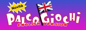 logo palcogiochi english